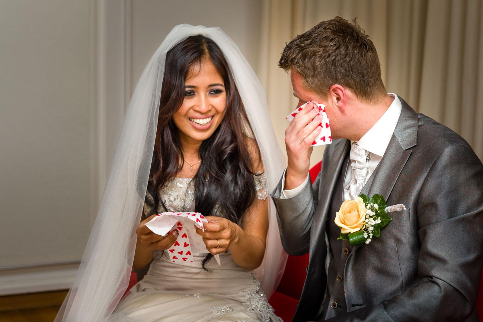 Bruidsfotografie Ceremonie Utrecht Parel van Zuiilen