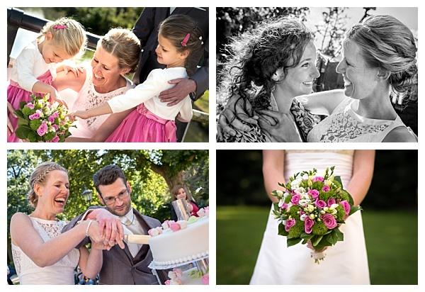 Bruiloft Parel van Zuilen Utrecht collage trouwreportage