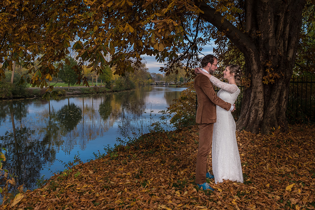 Trouwfotografie Parel van Zuilen Utrecht | Sofie en Remy oktober 2015 | Bruiloft