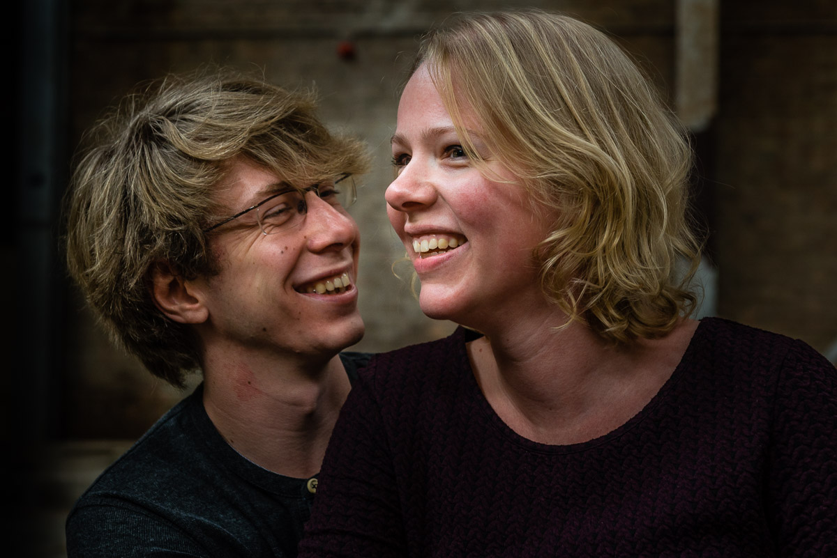 Loveshoot Honigcomplex fabriek pre-wedding