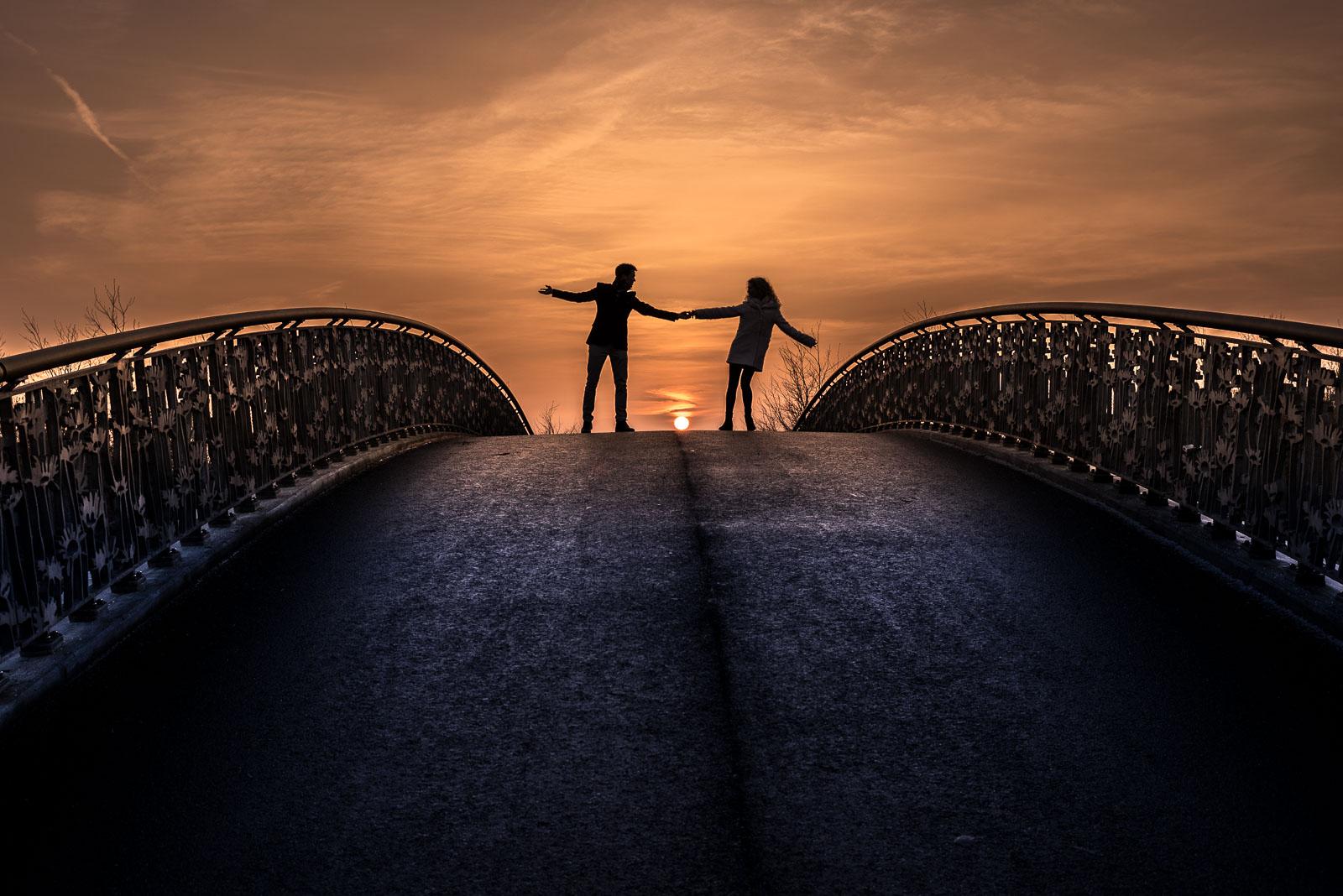 Loveshoot Maximapark Utrecht zonsondergang