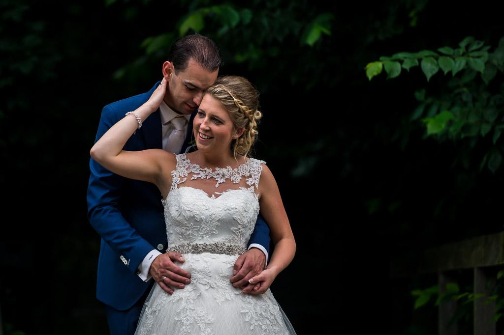 Bruiloft fotoshoot bruidsreportage Kasteel Ammerzoden