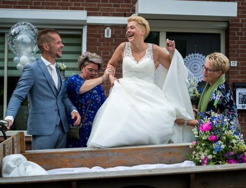 Bijzonder trouwvervoer de bakfiets
