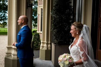 Firstlook Bruid en bruidegom Kasteel de Schaffelaar