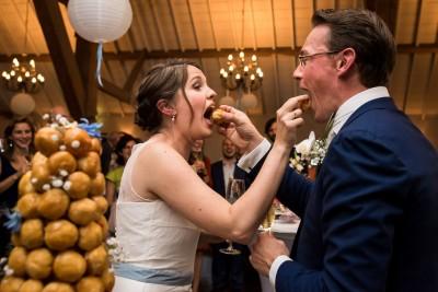 croque en bouche als bruidstaart