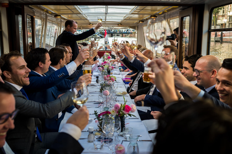 Trouwen-Rondvaartboot-Noord-Holland