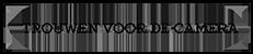 Trouwen voor de camera Logo
